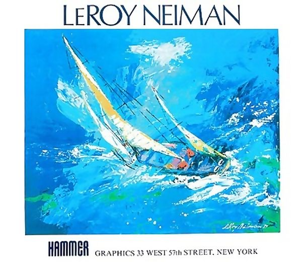 3 LEROY NEIMAN L/E PRINTS * SPORTS LOVERS COLLECTIONS