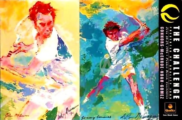 LEROY NEIMAN L/E PRINTS * SPORTS LOVERS COLLECTION II