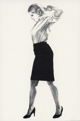"ROBERT LONGO ""CINDY"" EDITION PRINT POP ART LITHOGRAPH"