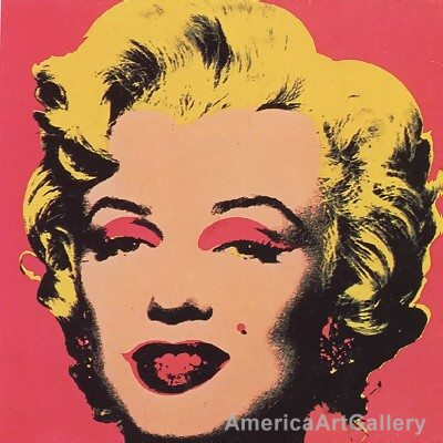 SUNDAY B MORNING WARHOL MARILYN 10 PRINT COLLECTION