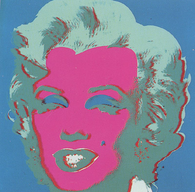 SUNDAY B MORNING WARHOL MARILYN PRINT(Pink)