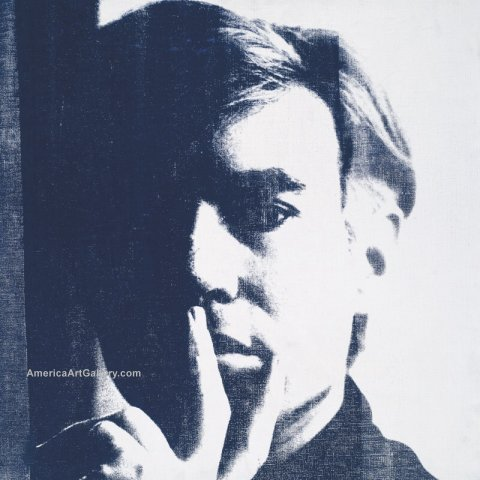 ANDY WARHOL SELF PORTRAIT 2