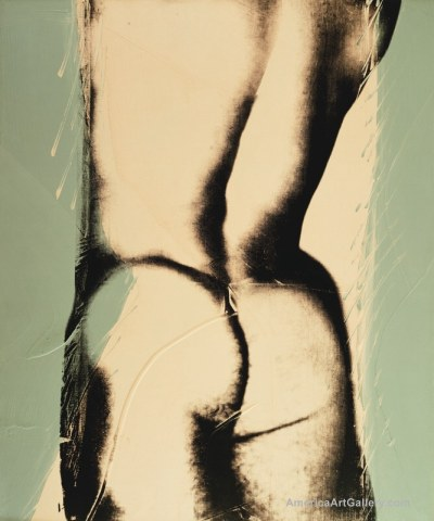 ANDY WARHOL NUDE MALE TORSO