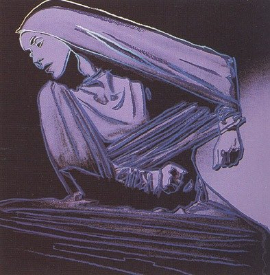 ANDY WARHOL SIGNED MARTHA GRAHAM LAMENTATION